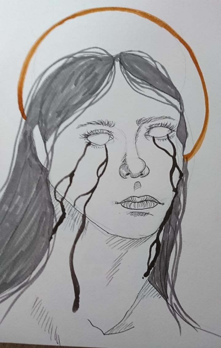 Schwarze Tränen